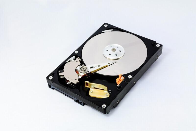 disque dur HDD d'un ordinateur