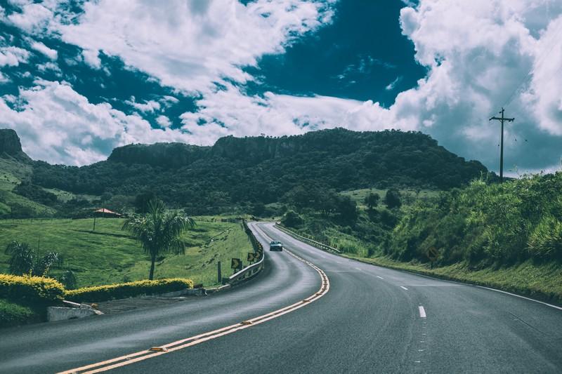 vue sur une route